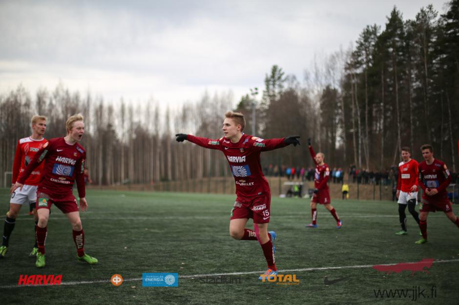 JJK Antto Hilska maalasi kahdesti harjoitusottelussa Jippoa vastaan