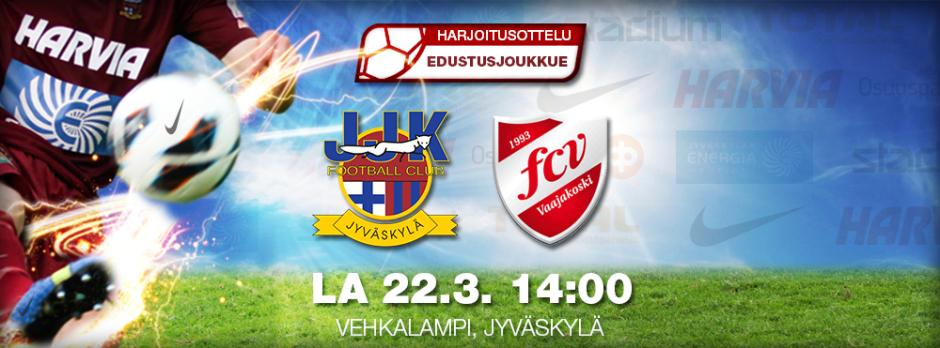 Harjoitusottelu JJK vs FC Vaajakoski la 22.3. Vehkalammella