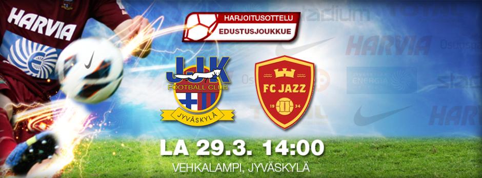 JJK - FC Jazz la 29.3. klo 14 Vehkalammella
