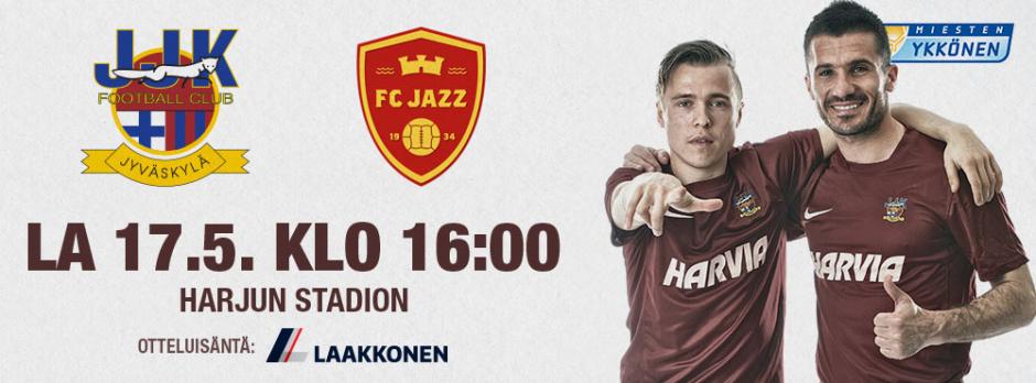 JJK - FC Jazz la 17.5. klo 16 Harjulla