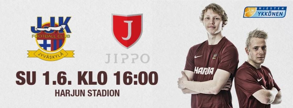 JJK-Jippo su 1.6. klo 16 Harjulla