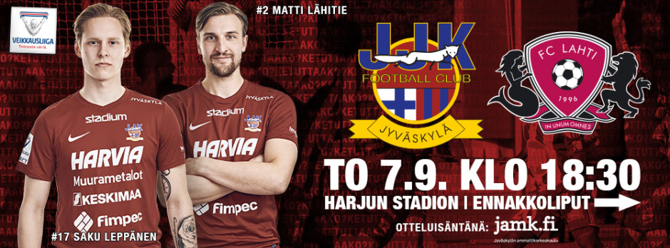 JJK - FC LAHTI TO 7.9.