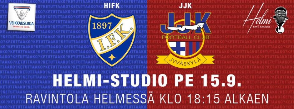 HIFK vs JJK 15.9. kisakatsomo