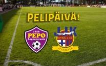 Lauantain harjoitusottelussa vastassa PEPO