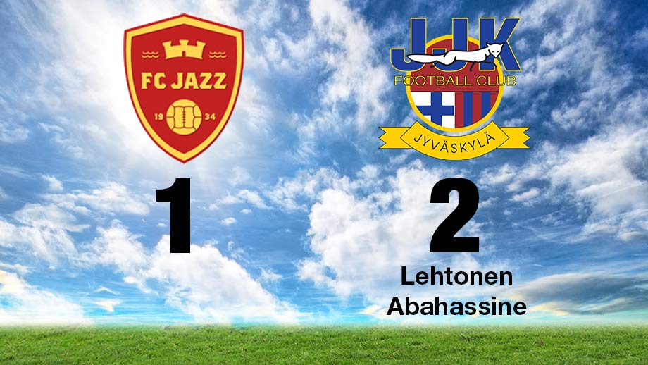 FC Jazz - JJK 1-2