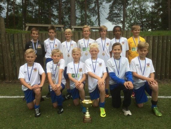 JJK -02 voitti Sami Hyypiä Akatemian turnauksen
