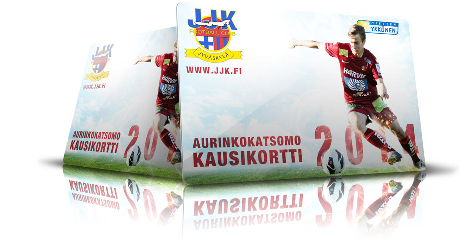 JJK Aurinkokausikortti 2014 nyt myynnissä