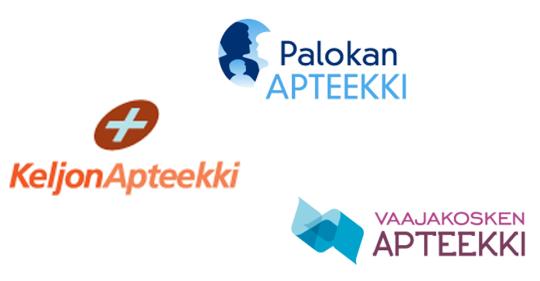 Keljon, Vaajakosken ja Palokan Apteekit JJK:n yhteistyökumppaneiksi