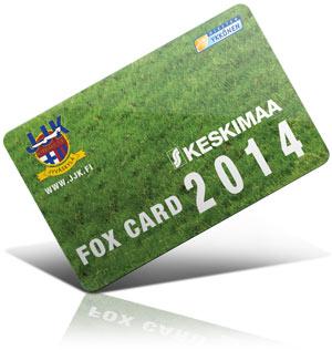 JJK Foxcard 2014 lasten oma kausikortti