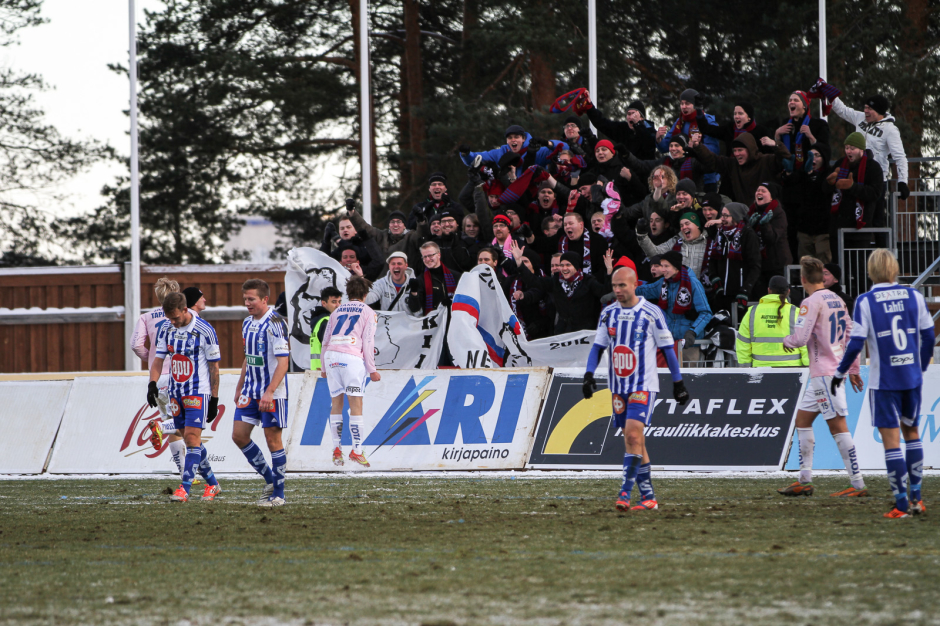 Lokakuinen HJK-peli 2012