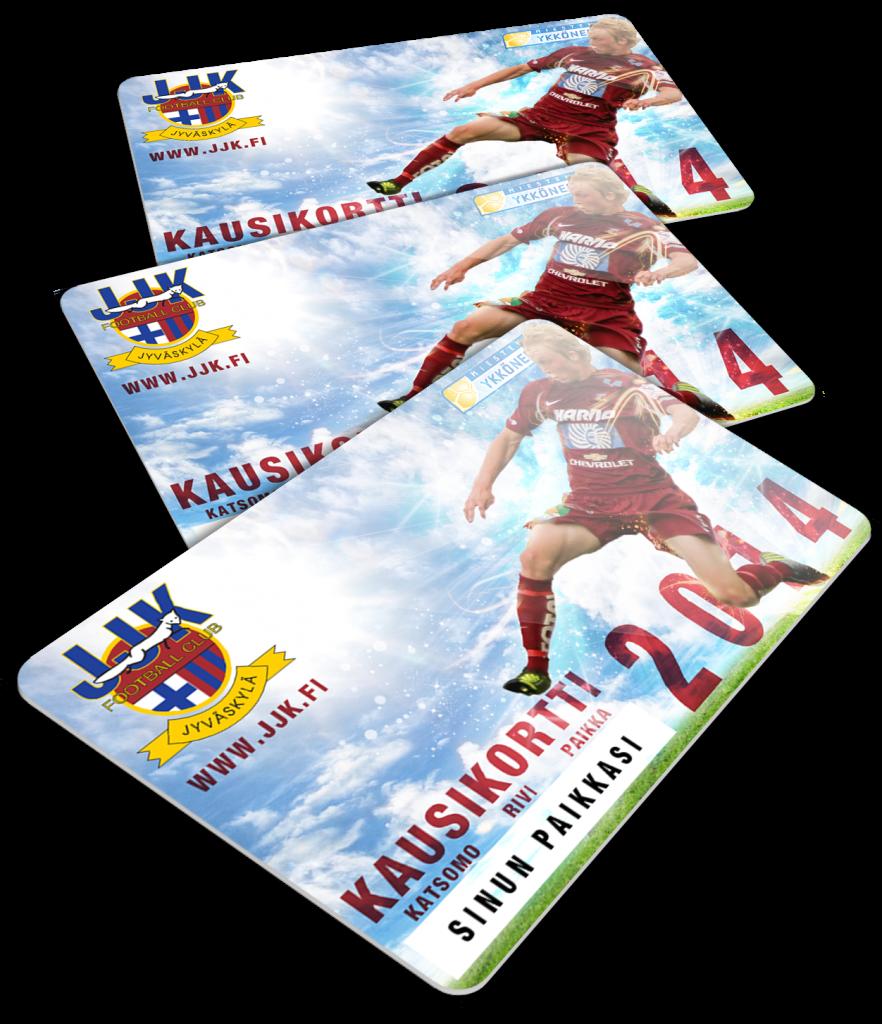 JJK-kausikortti 2014