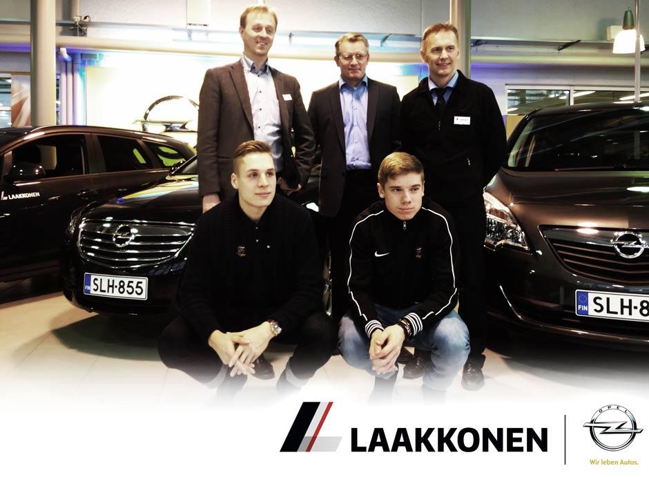 JJK ja Laakkonen jatkavat yhteistyötä - Opel automerkiksi
