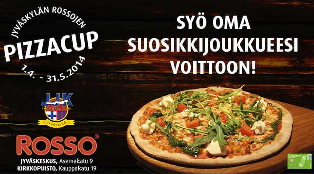 JJK Rosso pizzacup