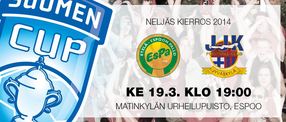 JJK kohtaa Suomen Cupissa EsPan