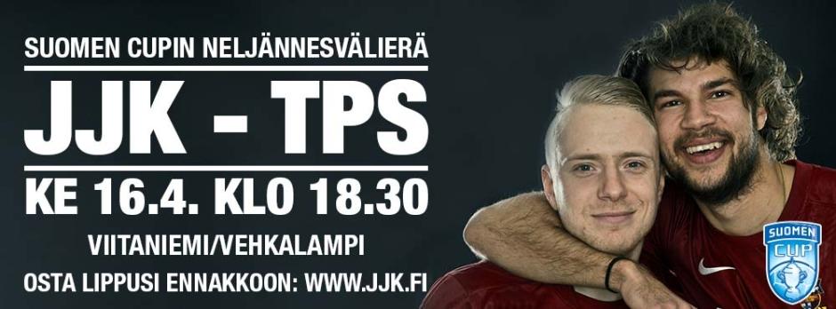 JJK-TPS Suomen Cup 16.4.