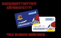 Kausikorttimyynti käynnistynyt kaudelle 2021
