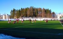 JJK ja FCV 1-1-tasapeliin harjoitusottelussa