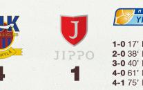 JJK murskasi Jipon