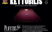 JJK Kettubilis pe 29.8. Playersissa